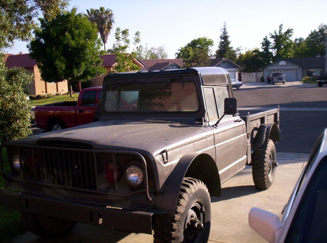 Sized on 1967 Kaiser Jeep M715 Parts